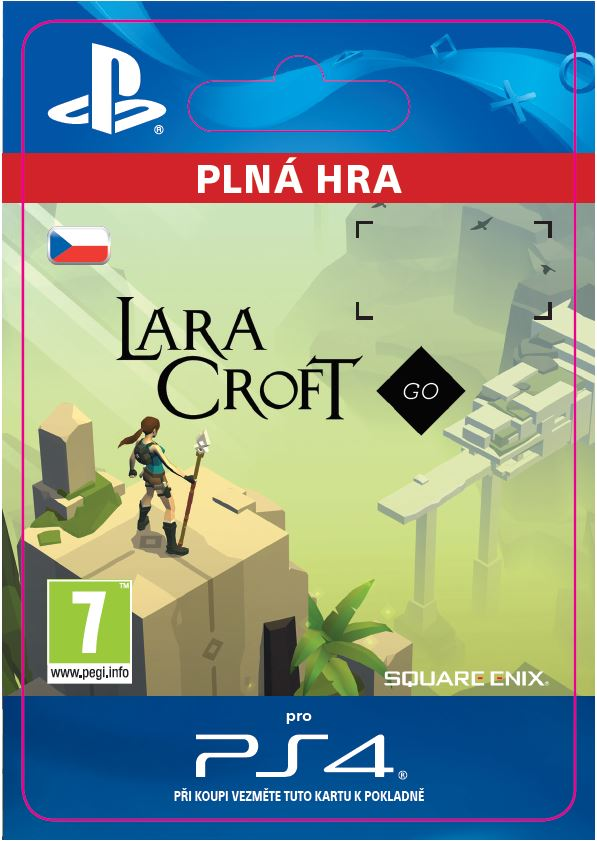 ESD CZ PS4 - Lara Croft GO