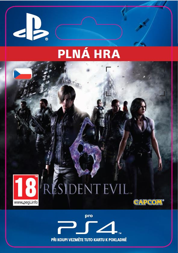 ESD CZ PS4 - Resident Evil 6