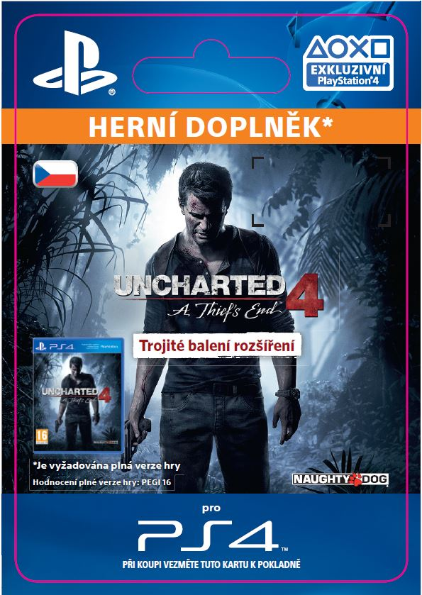 ESD CZ PS4 - Uncharted 4: A Thief's End Triple Pack Expansion