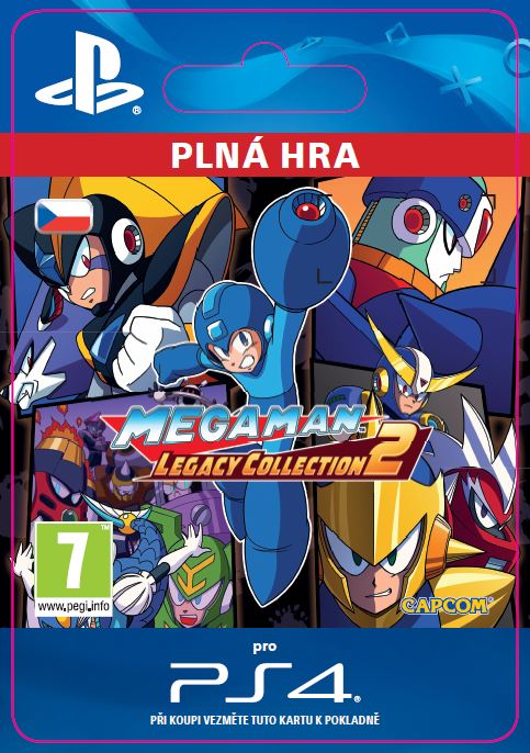 ESD CZ PS4 - Mega Man Legacy Collection 2