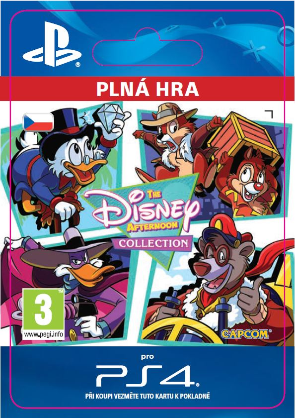 ESD CZ PS4 - The Disney Afternoon Collection