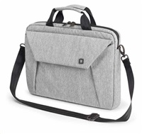 DICOTA Slim Case EDGE 14-15.6, light grey