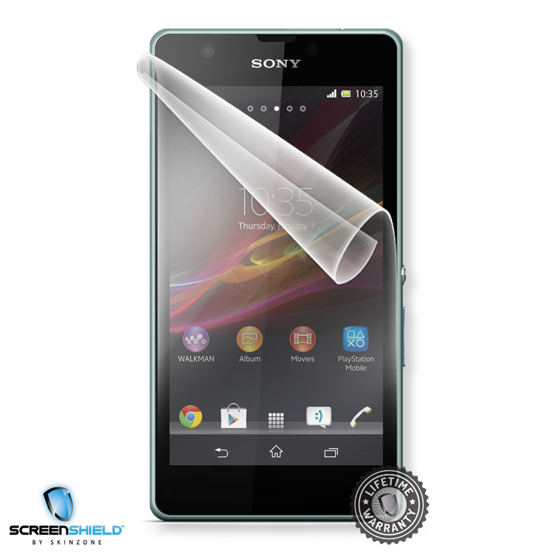 Screenshield SONY Xperia ZR C5502 folie na displej