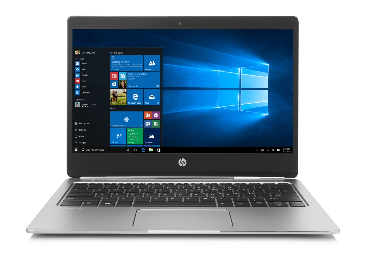 "HP Folio G1 m7-6Y75 12.5"" FHD UWVA, 8GB, 256GB, ac, BT, backlit keyb, 3y warr, vPro, Premium Packaging, Win 10 Pro"