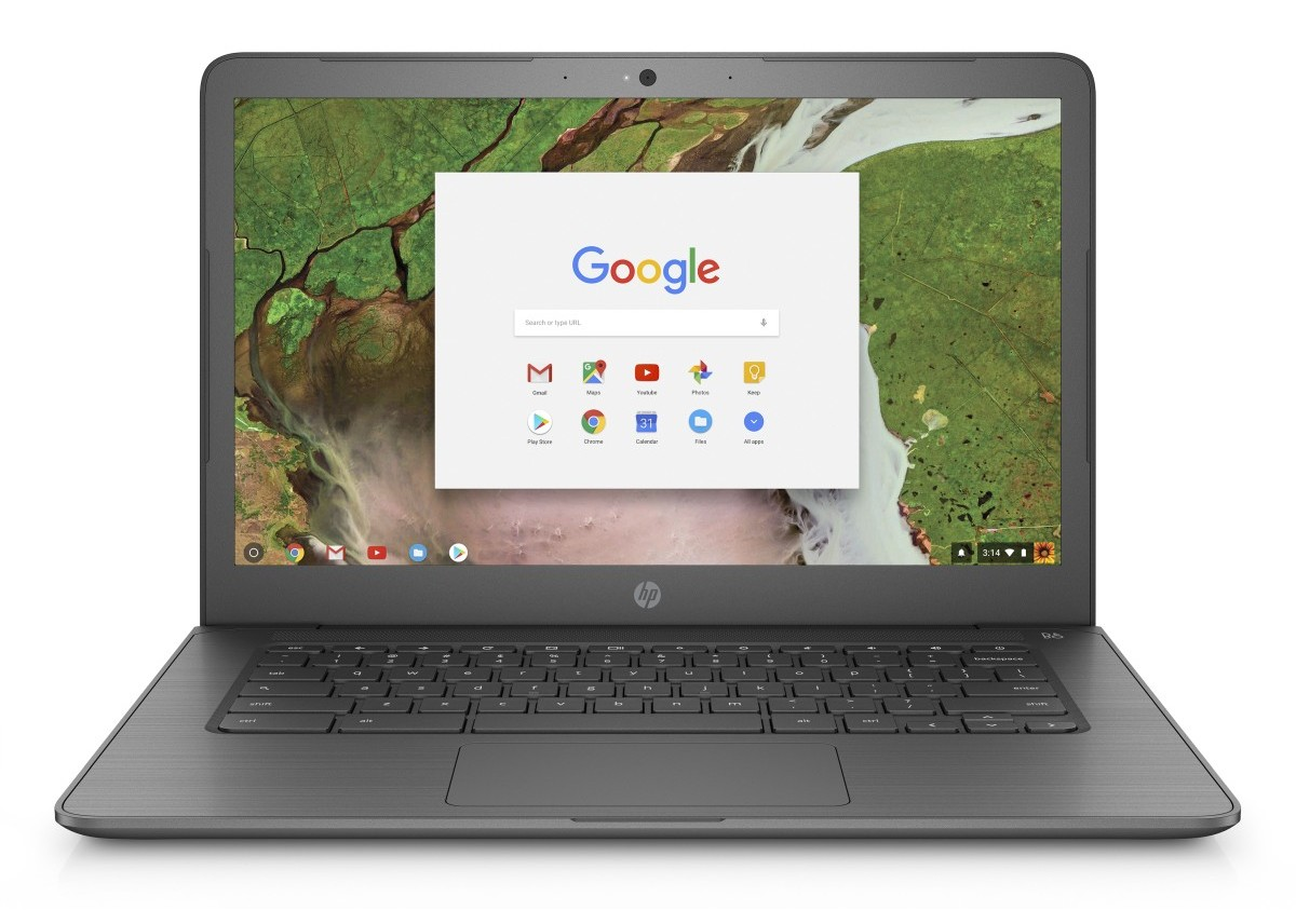 "HP ChromeBook 14 G5 14"" FHD N3350/4GB/32GB/Chrome"