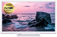 "Toshiba 24W1764DG LED TV, 24"" 61cm, HD ready (1366 x 768), DVB-C/T/T2/S/S2, USB, HDMI"