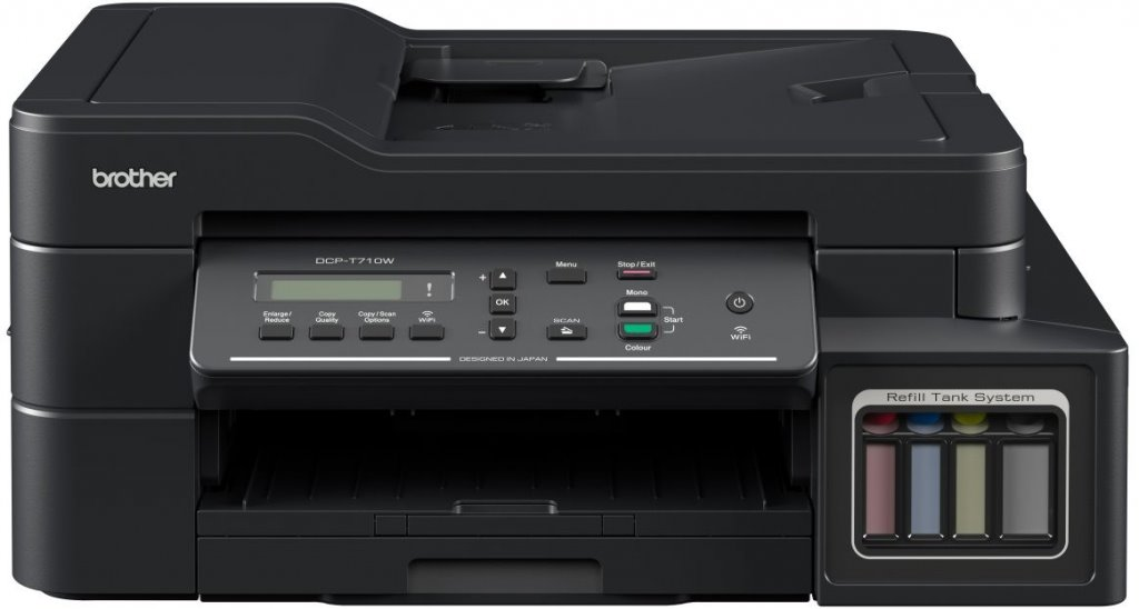 Brother DCP-T710W (tisk. / kop. / sken.) ink benefit plus, WiFi, ADF
