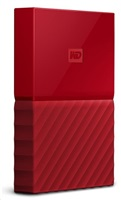 "WD My Passport 2TB Ext, 2,5"" USB3.0, RED"