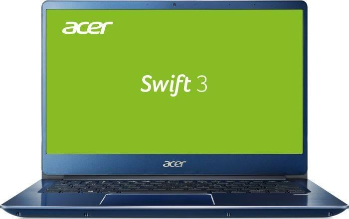 "Acer Swift 3 - 14""/i3-8130U/4G/1TB+16OPT/W10 modrý"