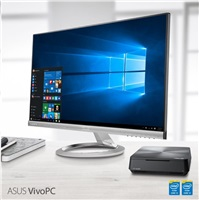 Bazar ASUS PC VivoPC VM62 - i3-4005U, 4GB, 500GB HDD, intel HD, WiFi, BT, W10, černý - rozbaleno