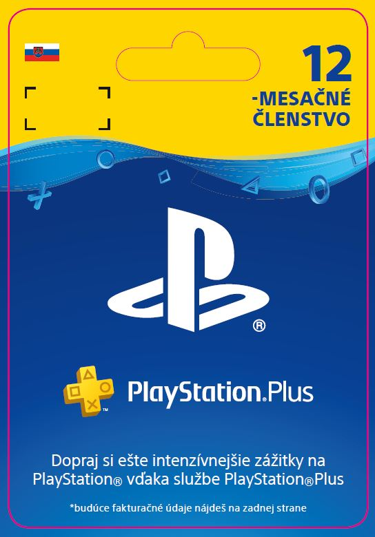 ESD SK PS4 - PlayStation Plus 12 Month Membership - 30% Off (DoP) [ESD]