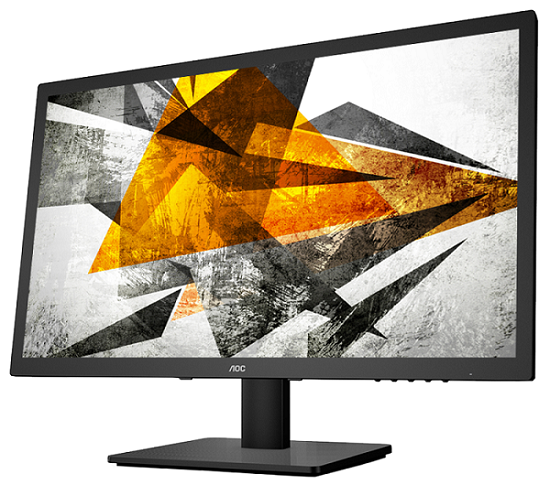 "24"" LED AOC E2475SWQE - FHD, HDMI, DP"