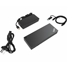 Lenovo ThinkPad Hybrid USB C with USB-A Dock, Lenovo ThinkPad Hybrid USB C with USB-A Dock - EU/INA/VIE/ROK