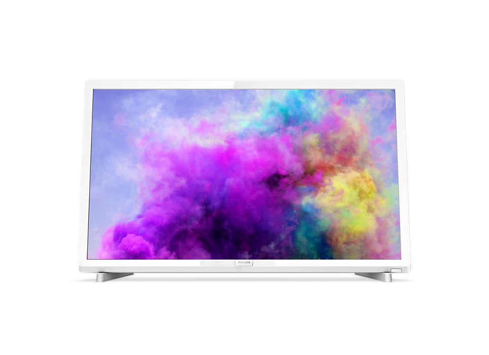 "Philips 24PFS5603 - 24"" Třída - 5600 Series LED TV - 1080p (Full HD) 1920 x 1080 - leskle bílá"