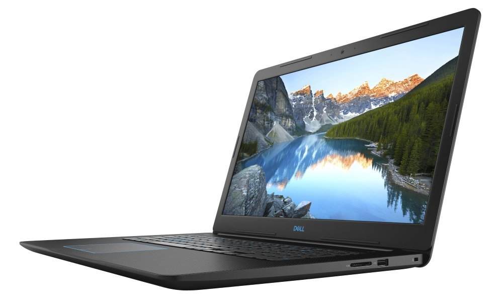"DELL Inspiron 17 G3 (3779)/ i5-8300H/ 8GB/ 1TB + 16GB Optane/ NV GTX 1050 4GB/ 17.3"" FHD/ FPR/ W10/ černý/ 2YNBD on-site"