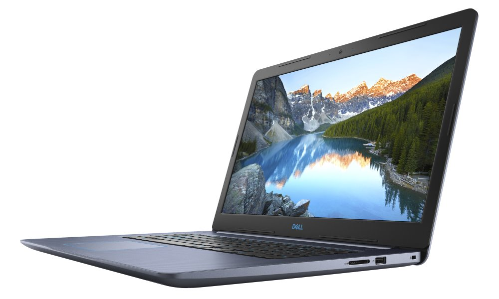 "DELL Inspiron 17 G3 (3779)/ i5-8300H/ 8GB/ 1TB + 16GB Optane/ NV GTX 1050 4GB/ 17.3"" FHD/ FPR/ W10/ modrý/ 2YNBD on-site"