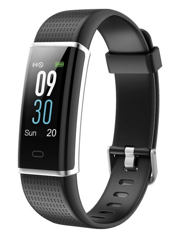 "UMAX chytrý náramek U-Band 130Plus HeartRate Color/ 0.96"" OLED/ Bluetooth 4.0+EDR/ IP67/ iOS 7.0 +/ Android 4.4 +/ černý"