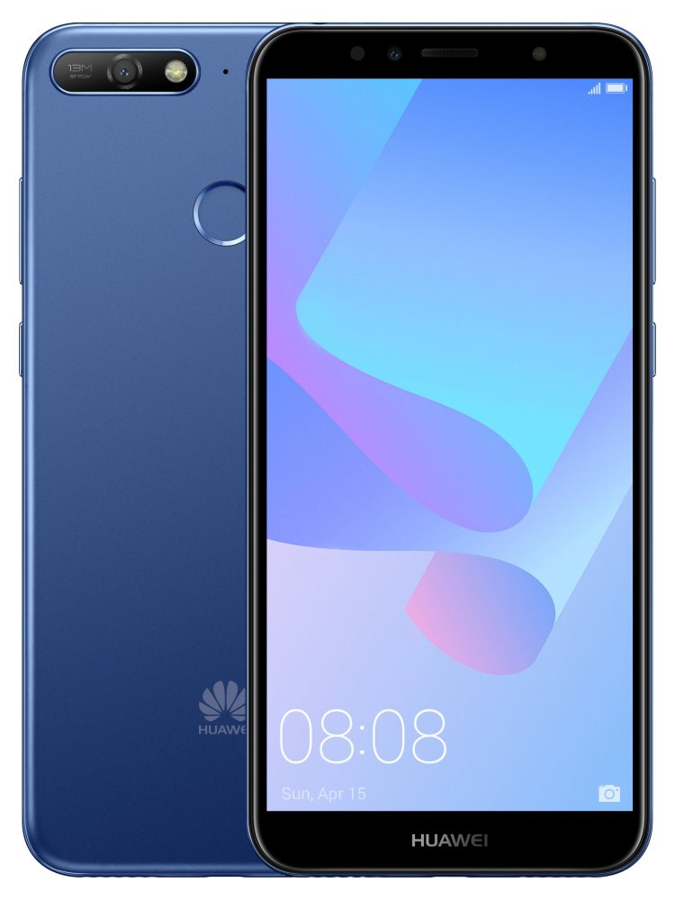Huawei Y6 Prime 2018 CZ DS blue