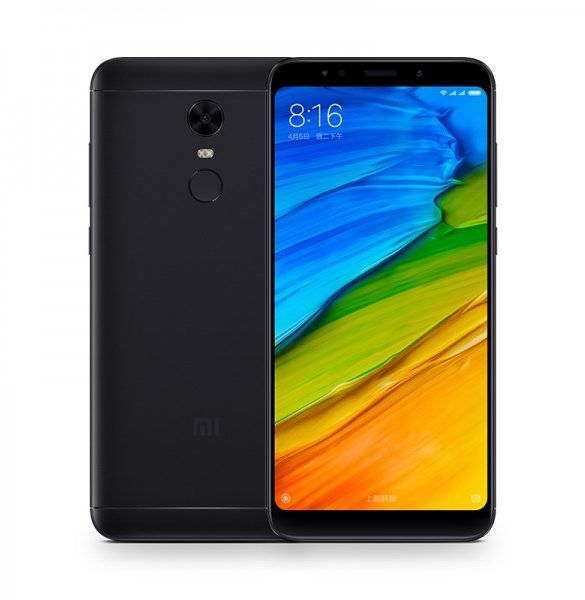 Xiaomi Redmi 5 DualSIM gsm tel. Black 3+32GB, Global