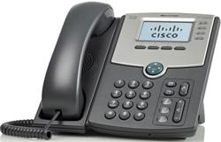 Cisco SPA514G IP Phone, 4 Voice Lines, 2x Gigabit Ports, High-Resolution Graphical Display, PoE Support REFRESH
