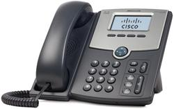 Cisco SPA512G IP Phone, 1 Voice Line, 2x Gigabit Ports, High-Resolution Graphical Display, PoE Support REFRESH