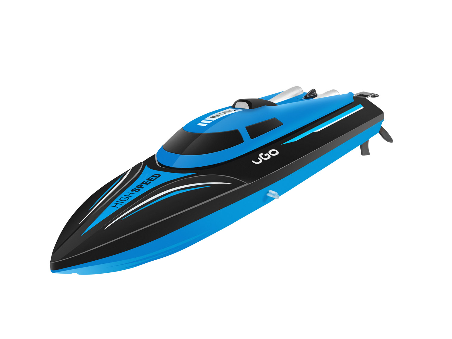 RC model Race Boat UGO THUNDER, 2.4Ghz, 25km