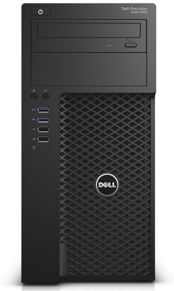 DELL Precision T3620/ E3-1240 v5/ 16GB/ 256GB + 1TB/ Quadro P2000/ W10Pro/ 3YNBD on-site