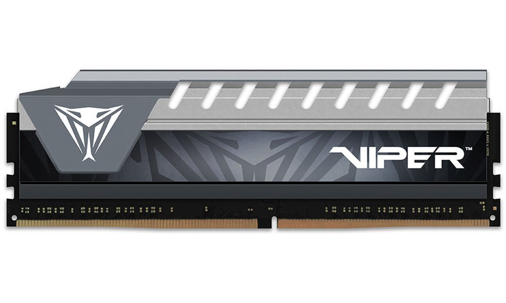 PATRIOT Viper Elite RAM DDR4 16GB 2400MHz / DIMM / CL16 / šedý chladič