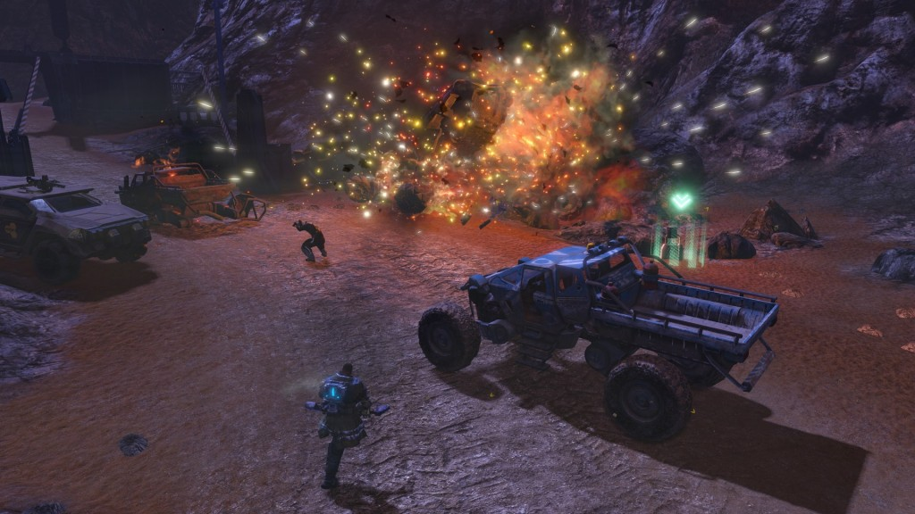 PS4 - Red Faction Guerrilla Re-Mars-tered Edition
