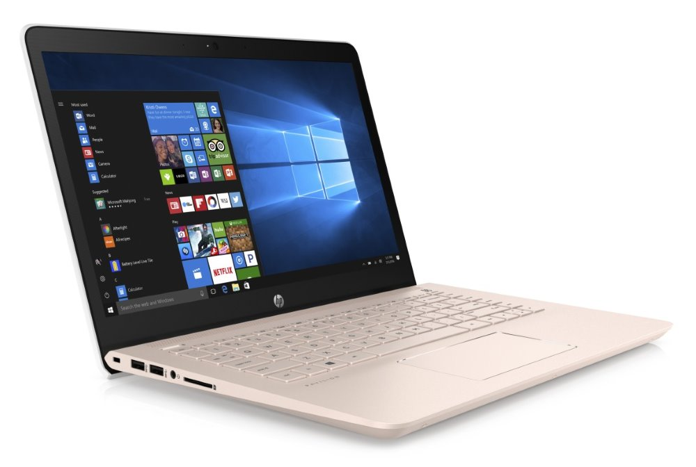 "HP Pavilion 14-bk013nc/ i5-7200U/ 8GB DDR4/ 128GB SSD + 1TB (5400)/ GeForce 940MX 2GB/ 14"" FHD IPS/ W10H/ pale rose gold"