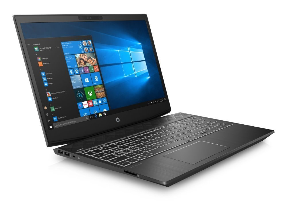 HP Pavilion Gaming 15-cx0017nc/ i7-8750H/ 16GB DDR4/ 256GB SSD + 1TB (7200)/ GeForce GTX 1050 4GB/ 15,6 FHD IPS/ W10H/ č