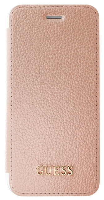 GUFLBKP7IGLTRG Guess IriDescent Book Pouzdro Rose Gold pro iPhone 7/8