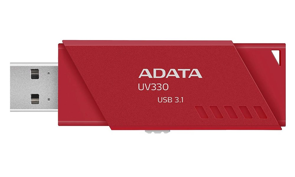 ADATA Flash disk UV330 128GB / USB 3.1 / červená