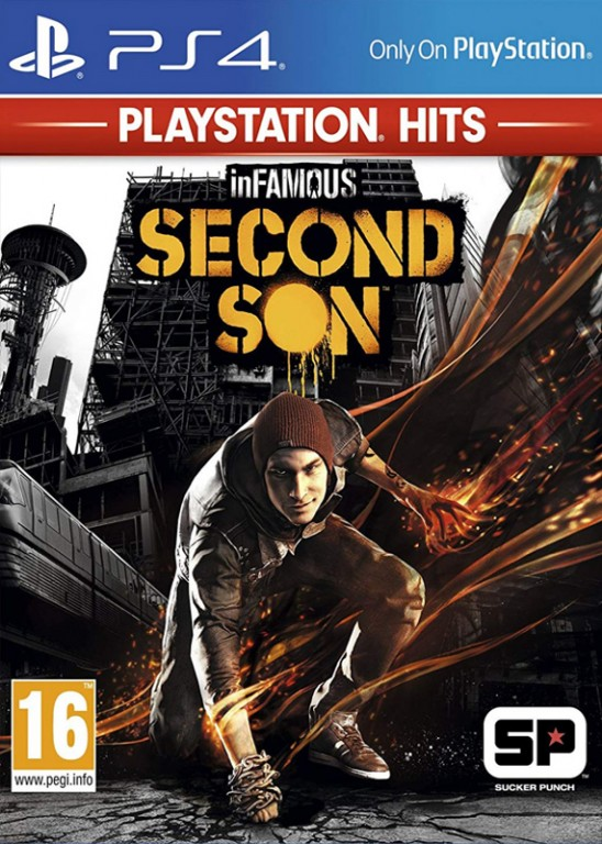 SONY PS4 hra InFamous Second Son