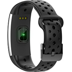 iGET FIT F2 Black - chytrý náramek, IP68, Multisport, LCD, 90mAh, Find Watch