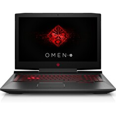 "HP Omen 17-an100nc/ i7-8750H/ 8GB DDR4/ 256GB SSD + 1TB (7200)/ GeForce GTX 1050Ti 4GB/ 17,3"" FHD IPS/ W10H/ černý"