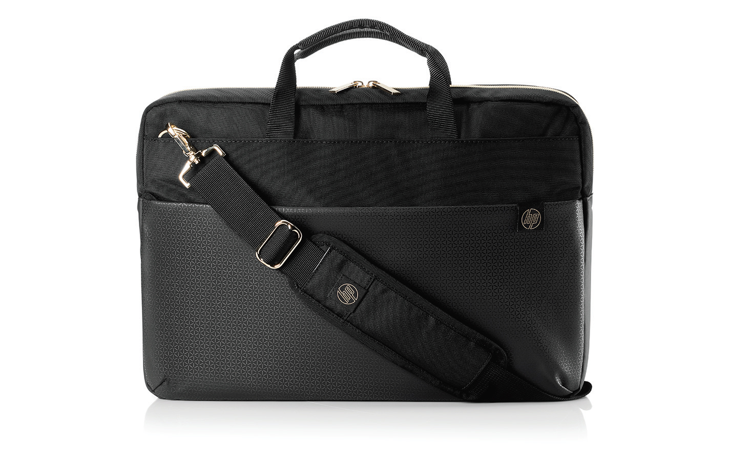 HP Pavilion Accent Briefcase 15 Black/Gold