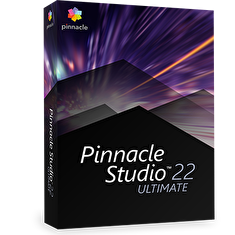 Pinnacle Studio 22 Ultimate ML EU, EN/CZ/DA/ES/FI/FR/IT/NL/PL/SV, BOX