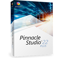 Pinnacle Studio 22 Plus ML EU, EN/CZ/DA/ES/FI/FR/IT/NL/PL/SV, BOX
