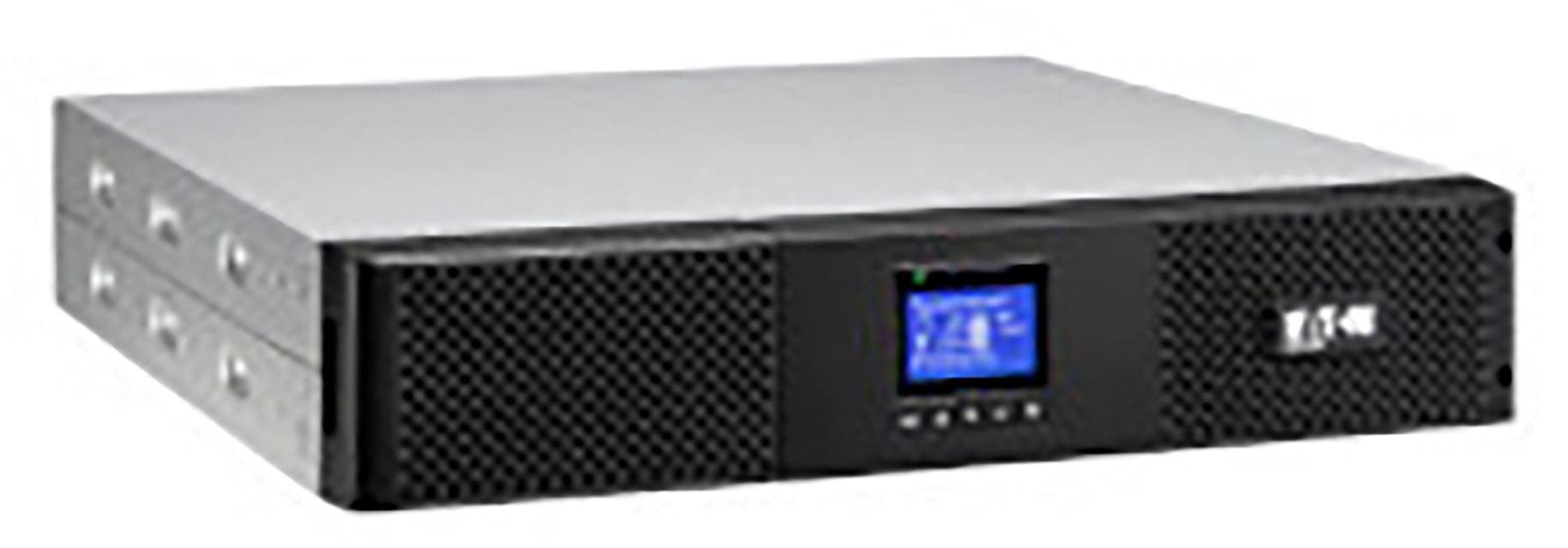EATON UPS 9SX 1000VA, On-line, Rack 2U, 1000VA/900W, výstup 6x IEC C13, USB, displej, sinus